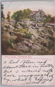 Vicksburg, Miss., Shirley House, Caves, safest habitation during siege-1906