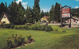 The Alpiner Motel And Inn, Located On Hwy No. 1, Sicamous, B.C., Canada, 1940...