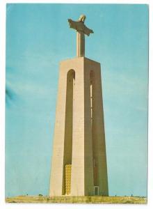 Lisboa Lisbon Cristo Rei Christ Monument Portugal 1969