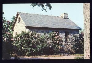 Shelburne Museum, Vermont/VT Postcard, Little Stone Cottage