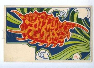 187604 ART NOUVEAU Water L'EAU by CCT Vintage DIETRICH PC
