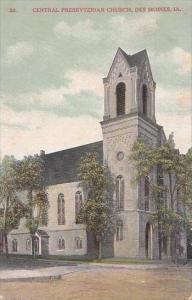 Iowa Des Moines Central Presbyterian Church