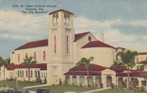 St. James Catholic Church, The City Beautiful, Florida, PU-1954