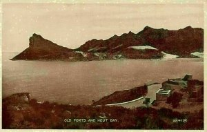 South Africa Old Forts and Hout Bay Panorama Postcard