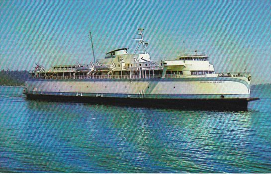 Canada M V Queen Of Saanich British Columbia Ferries