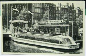 Netherlands Amsterdam Damrak Reederij Plas - unposted