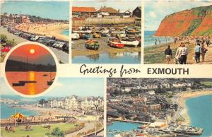 B88201 greetings from exmouth   uk  14x9cm
