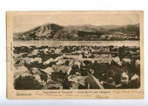 152113 Hungary BUDAPEST Gross-Maros & Visegrad Nagy-Maros OLD