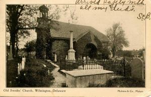 DE - Wilmington. Old Swede's Church
