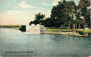 USA Georgia St. Simons Island Fort Oglethorpe 03.78