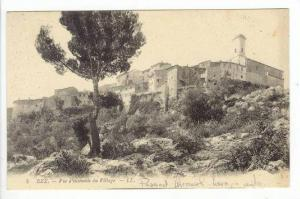 Panoramic of Village,Eze,France 1900-10s
