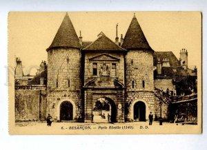 191375 FRANCE BESANCON Porte Rivotte Vintage Modirna postcard
