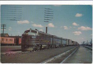 Baltimore & Ohio Railroad #4554 A-B-B Electro-Motive F7 Locomotive
