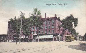New York Utica Trolley At Baggs Hotel 1910