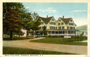 NH - Intervale. Maple Villa Hotel