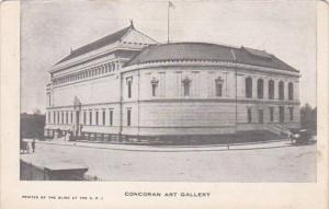 Washington D C Corcoran Art Gallery Private Mailing Card