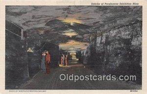 Pocahontas Exhibition Mine W VA, USA Unused