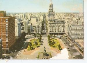 Postal 032023 : Montevideo (Uruguay) Plaza independencia