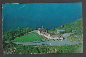 Aerial View Of Keltic Lodge Ingonish Beach, NS - 1984 Used Creased & Wear