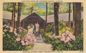 Bath House and Concession Building, Cliffside, Nantahala National Forest, Wes...