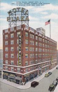 New Jersey Jersey City Hotel Plaza 1952