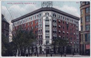 Hotel Lafayette, Bufffalo NY