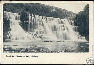 south africa, LYDENBURG, Water Fall (ca. 1899)