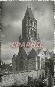 Postcard Modern Orbec Calvados Bell tower of the Church