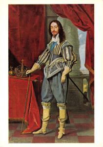 Art Postcard, King Charles I by Daniel Mytens (1631) U87