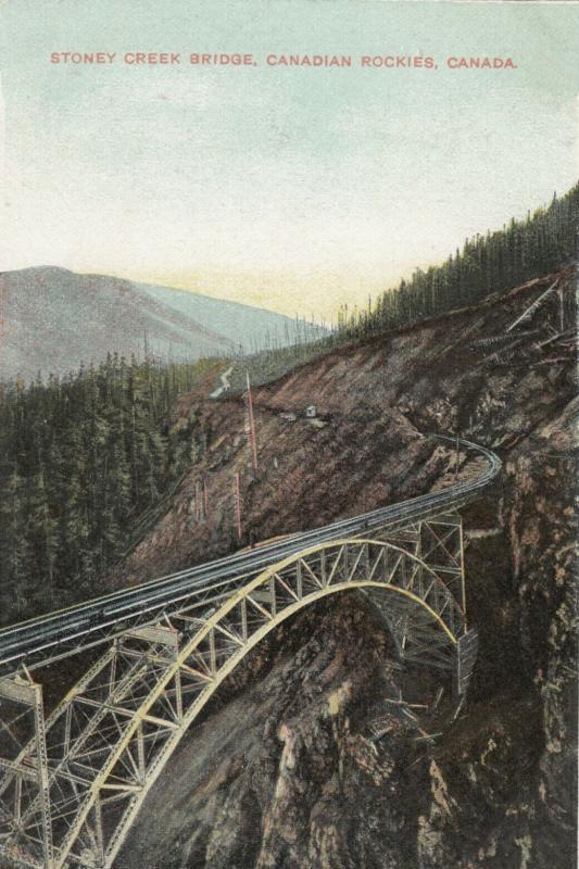 Stoney Creek Bridge , Canadian Rockies, Canada , 00-10s