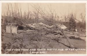 RP: Tornado Damage, Chas. Evans Ranch, Near NORTH PLATTE, Nebraska , 1920s : #2