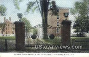 Memorial Gate Exeter NH Unused