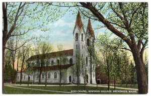 Brunswick, Maine, King Chapel, Bowdoin College