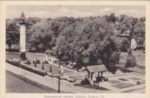 Shakespearian Gardens, Stratford, Ontario, Canada, 1910-1920s