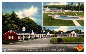 Virginia Richmond  White House Motor Lodge