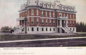 EDMONTON, Alberta, Canada, 1900-1910's; Misericordia Hospital
