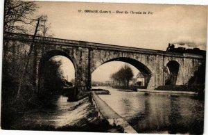 CPA BRIARE - Pont du Chemin de Fer (228001)