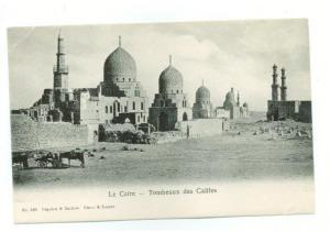 Cairo Luxor Egypt Postcard tombs of the califs