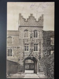 c1913 Cambridge: Jesus College, Great Gate
