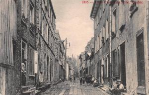 Little Champlain Street, Quebec City, Quebec, Canada, Early Postcard, Used
