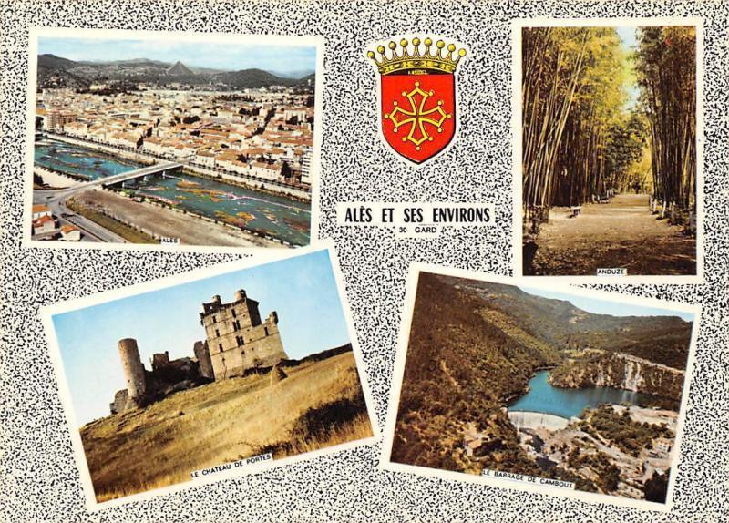 France Ales et ses Environs Gard Ales Le Chateau de Portes Anduze Le Barrage