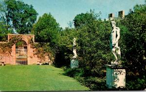 North Carolina New Bern Tryon Palace One Of The Gardens