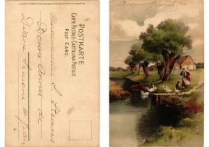 CPA Vom Lebenswege Meissner & Buch Litho Serie 1258 (730667)