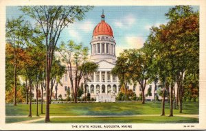 Maine Augusta The State Capitol Building Curteich