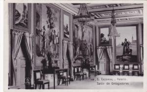 RP: El Escorial , Madrin , Spain , 10-30s ; Salon de Embajadores