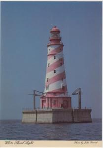 Michigan Grey Reef Passage  White Shoal Light House