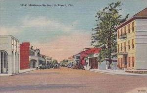 Florida St Cloud Main Street Business Section