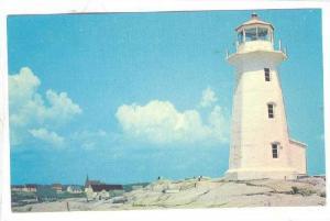 Lighthouse , Peggy's Cove , Niva Scotia , Canada , 40-60s