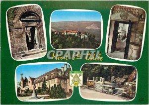Modern Postcard Mont Sainte Odile Alsace alt 763 m Gate Terrace overview of t...