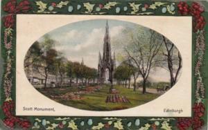 Scotland Edinburgh The Scott Monument 1910